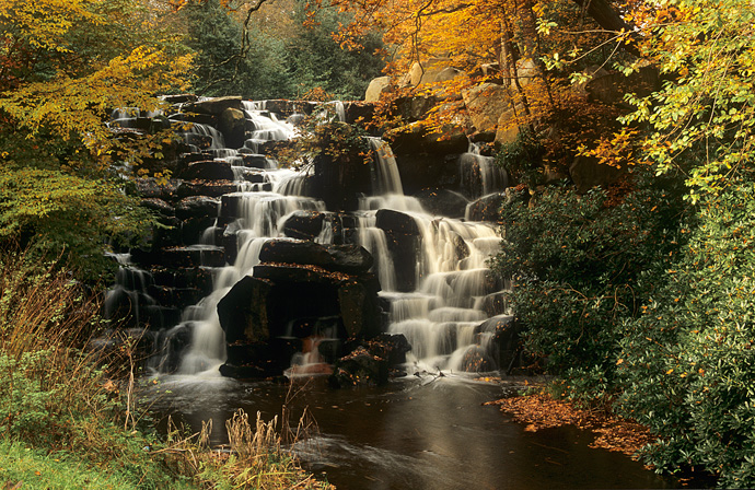 Waterfall,-Virginia-Water